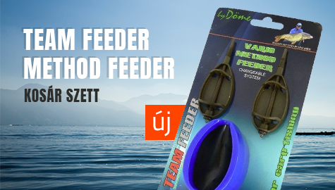Team Feeder Method Feeder Kosár Szettek