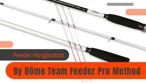 By Döme Team Feeder Pro Method Feeder Horgászbotok