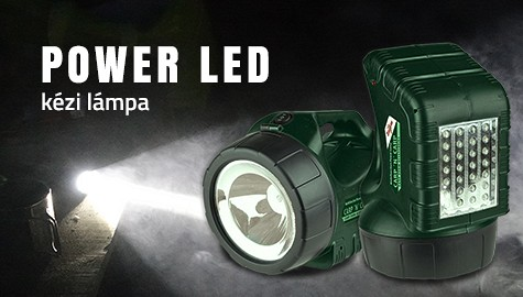 Carp Zoom POWER LED kézi lámpa