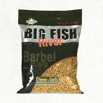 Dynamite Baits Big Fish River Cheese&Garlic Etetőanyag 1,8kg (DY1371)