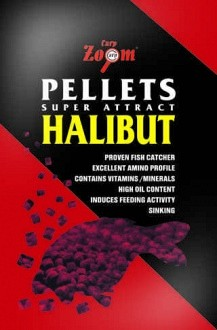 Carp Zoom Red Halibut Pellets