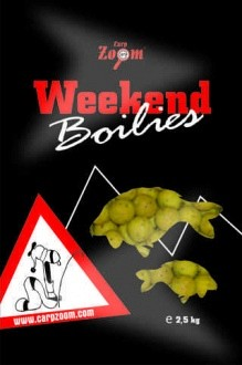 Carp Zoom Weekend boilies bojlik
