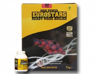 SBS Eurostar Ready-Made Boilies + 50ml Turbo Bait Dipp