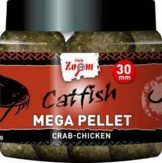 Carp Zoom Catfish Mega Pellet 30mm 230g crab-chicken rák-csirkehús