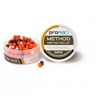 Promix Method Mini Wafter Pellet Tejkaramell 18g
