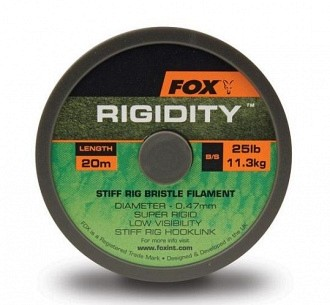 Fox Rigidity 20m 25lb Ø 0,47mm