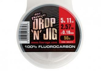 FOX Rage Drop And Jig 50m Fluoracarbon Zsinórok
