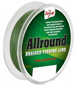 Carp-Zoom Allround fonott zsinór 0,18mm 13,76kg 110m