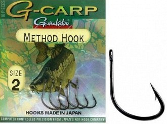 Gamakatsu G-Carp method hook horgok