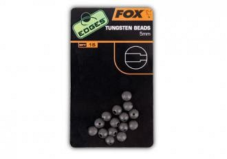 Fox Edges Tungsten Beads Ólmozott Gyöngy 5mm