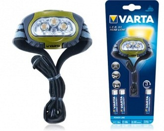 Varta Power Line Military LED Head fejlámpa 3+1 led