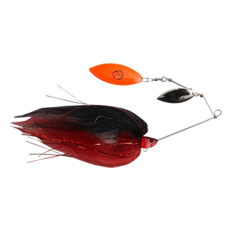 Savage Gear Da'Mega Bush Spinnerbait #8 55g Black and Red