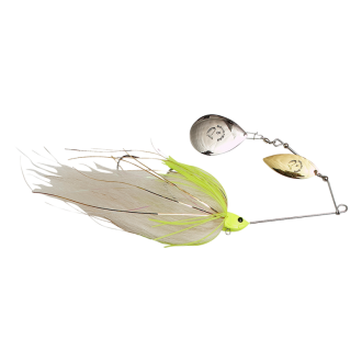 Savage Gear Da'Mega Bush Spinnerbait #8 55g  White Chartruese