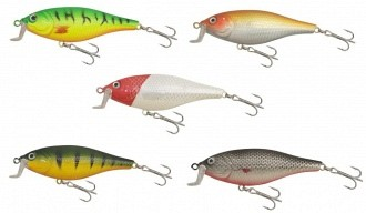 Gold Star Fat Shad Wobblerek