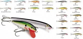 Rapala Original wobblerek
