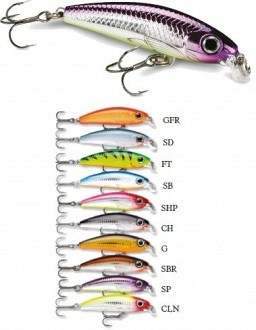 Rapala Ultra Light Minnow wobblerek