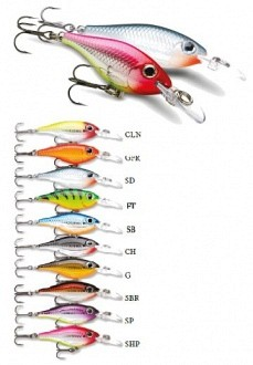 Rapala Ultra Light Shad wobblerek