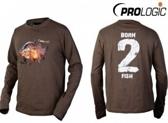 Prologic Born 2 Fish long sleeve t-shirt hosszú ujjú pólók