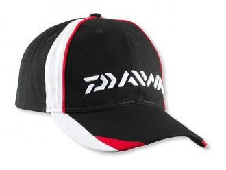 Daiwa Black/White/Red Baseball Sapka